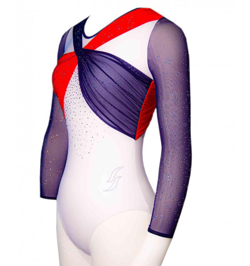 Gymnastics leotard OPALINE-01