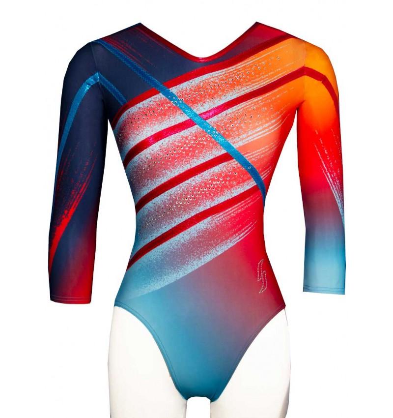 Gymnastics leotard PAPRIKA-01