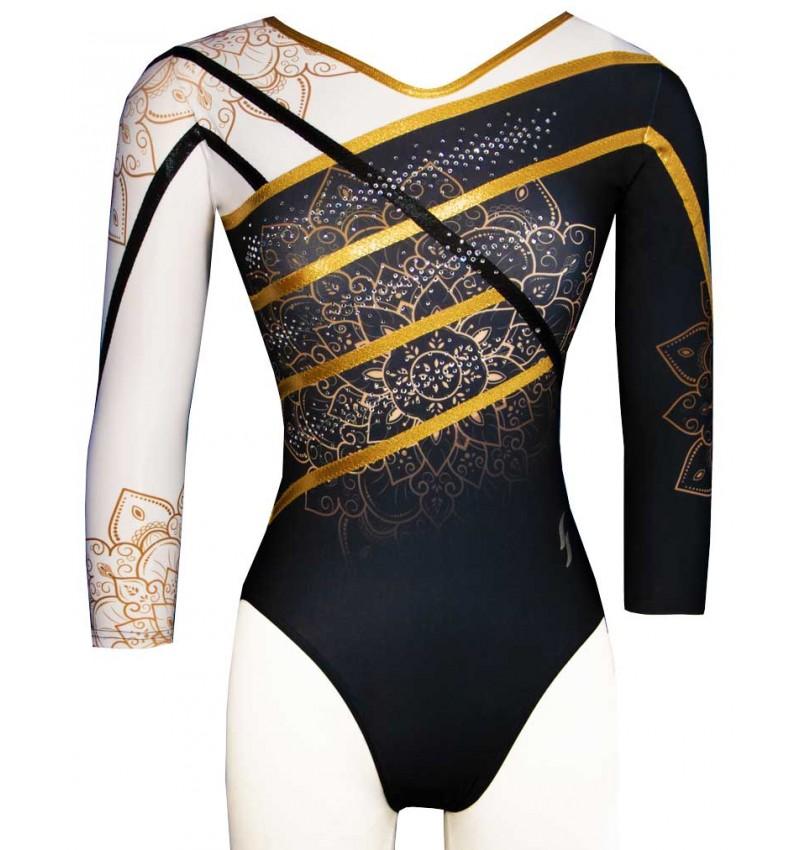 Gymnastics leotard PAPRIKA-02