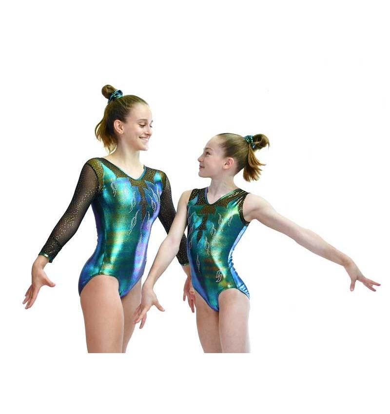 Gymnastics leotard PRUNELLE-01