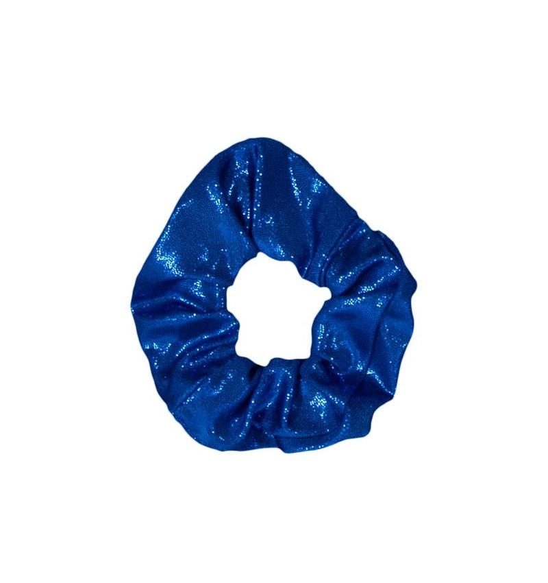 Chouchou poudré bleu roi