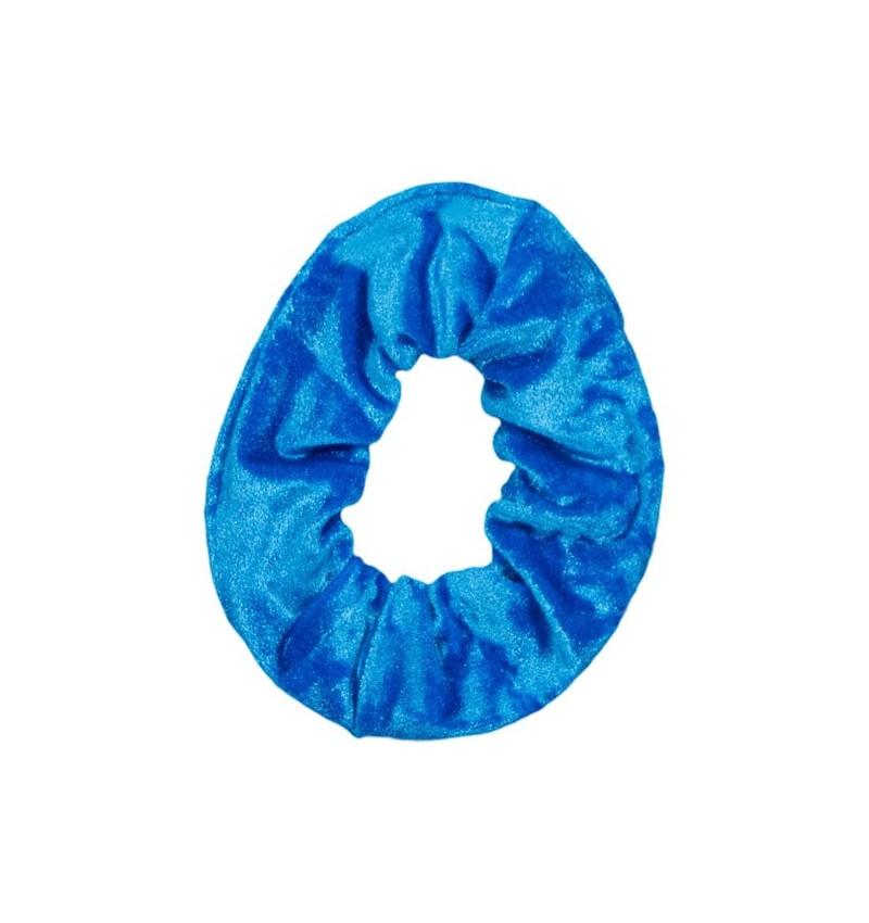Chouchou velours bleu
