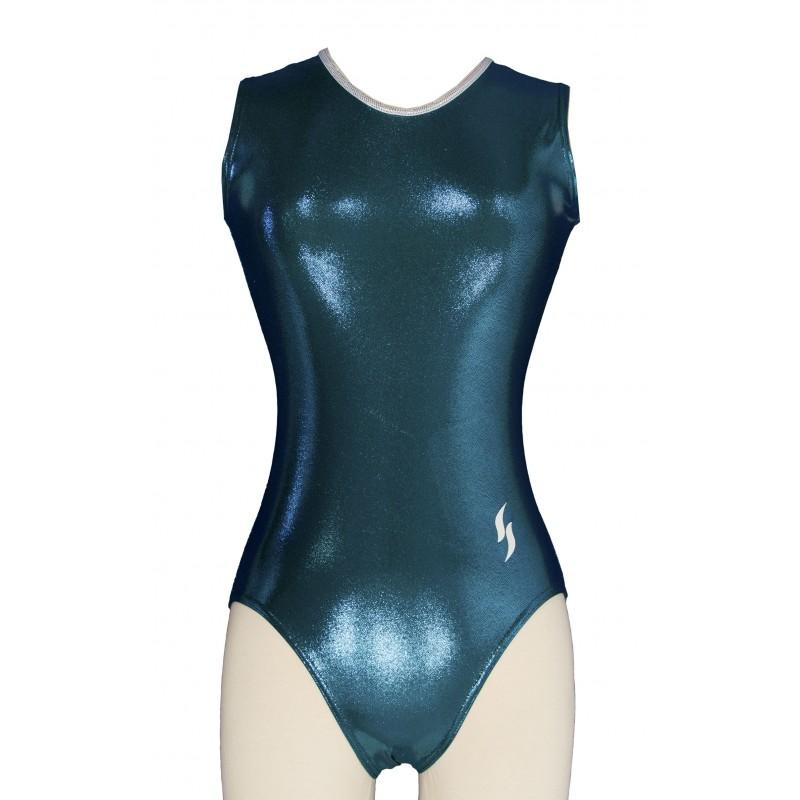 Justaucorps Gymnastique Gwen Vert