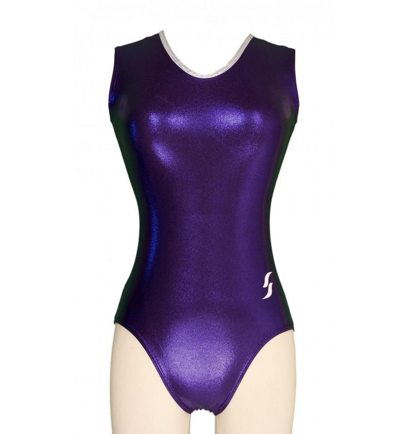 Justaucorps Gymnastique Gwen Violet